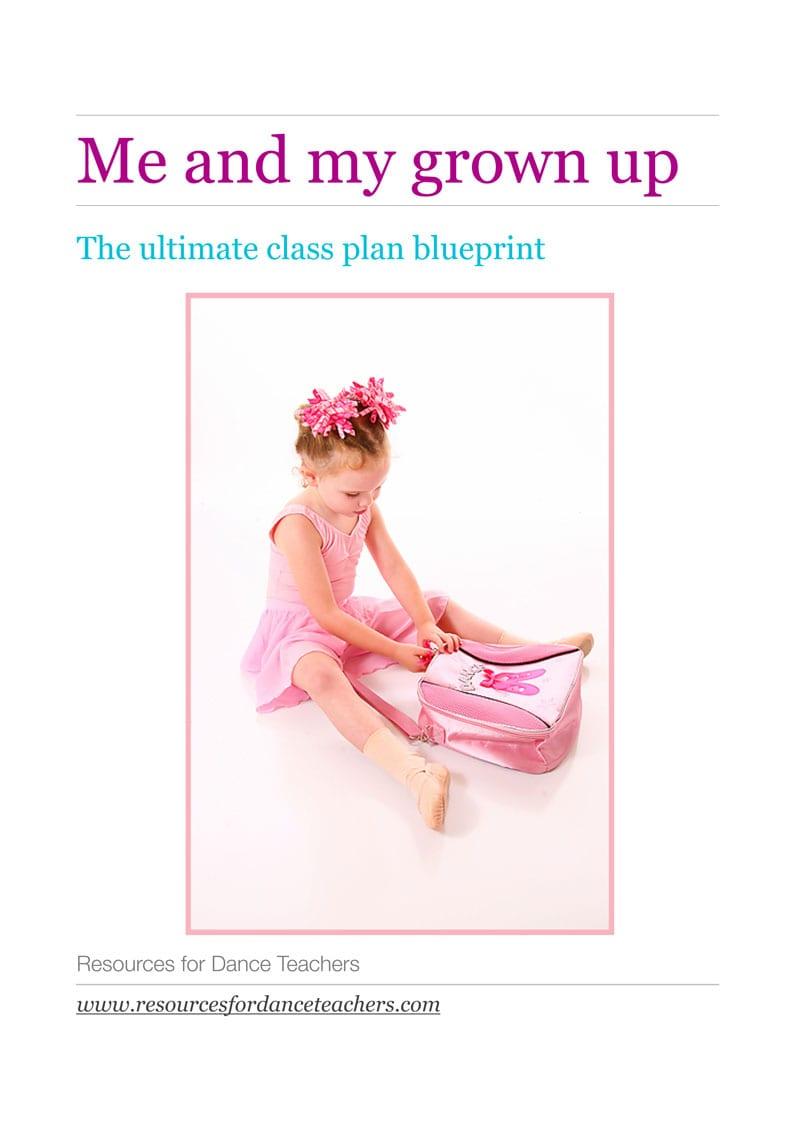 Preschool ballet class plan