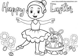 christian dance coloring pages - photo#5