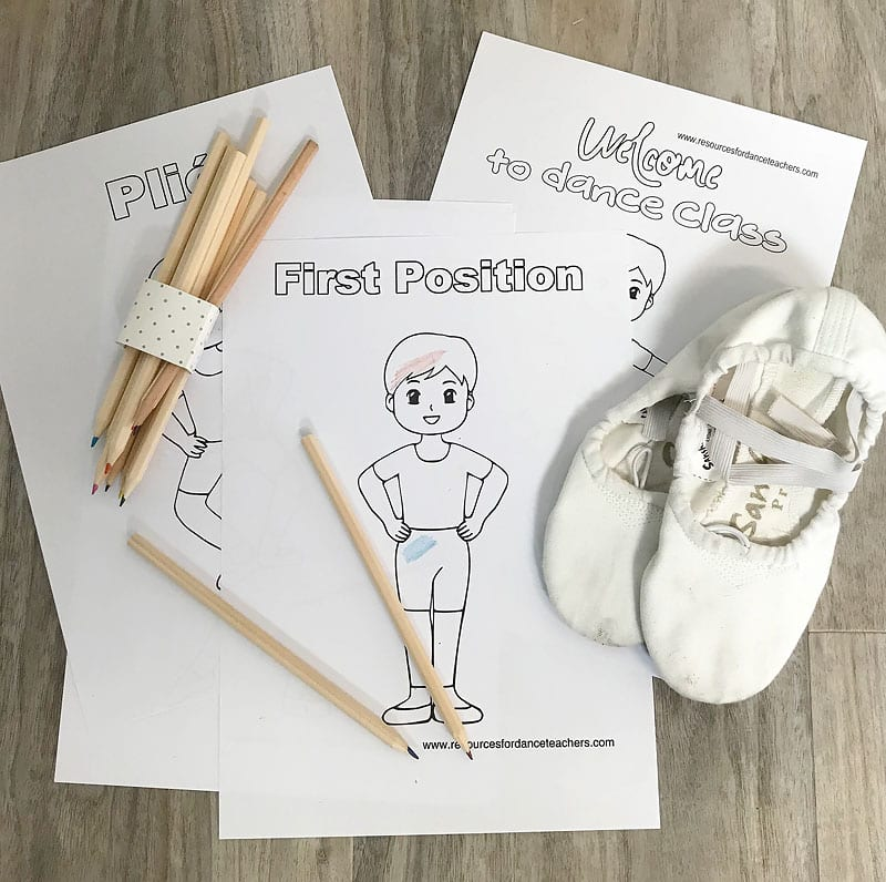 Ballet Coloring Pages For Boys Resources For Dance Teachers