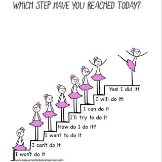 Growth mindset dance printable