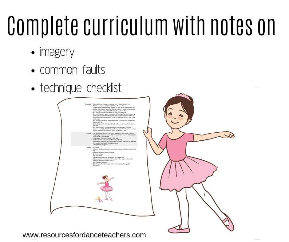 ballet blueprint curriculum
