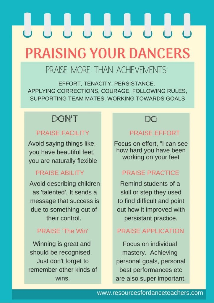 how to get more out of your dancers
