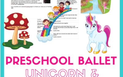 Unicorn Preschool Ballet class plan